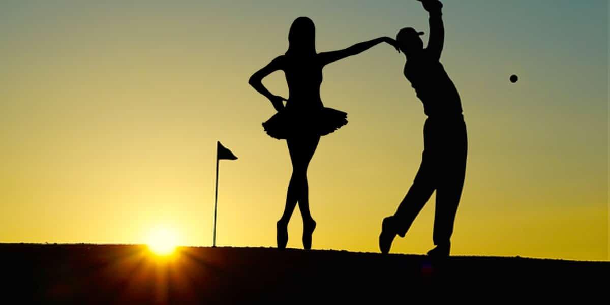 golf Balance techniques