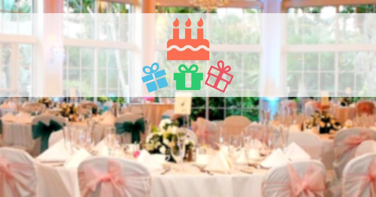Adult Birthday Party Venue