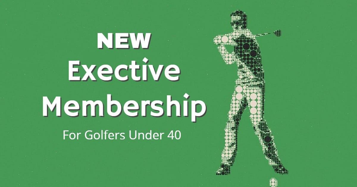 Golf Membership for Golfers Under 40
